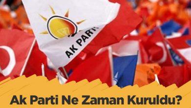 Photo of Ak Parti Ne Zaman Kurulmuştur?
