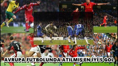 Photo of Avrupa Futbolunda Atılmış En İyi 5 Gol