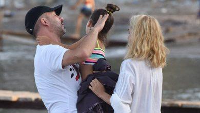 Photo of Aygen Ailesi, Denizin Keyfini Çıkarmak İçin Akşamı Bekledi