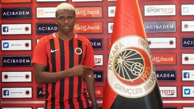 Photo of Gineli Futbolcu Sadio Diallo, Gençlerbirliği'nden Ayrıldı