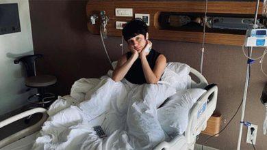 Photo of Gonca Vuslateri, Hastaneye Düştü