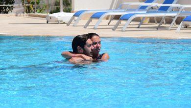 Photo of İsmail Ege Şaşmaz, Sevgilisiyle Havuzda Görüntülendi