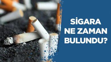Photo of Sigara Ne Zaman Bulundu?