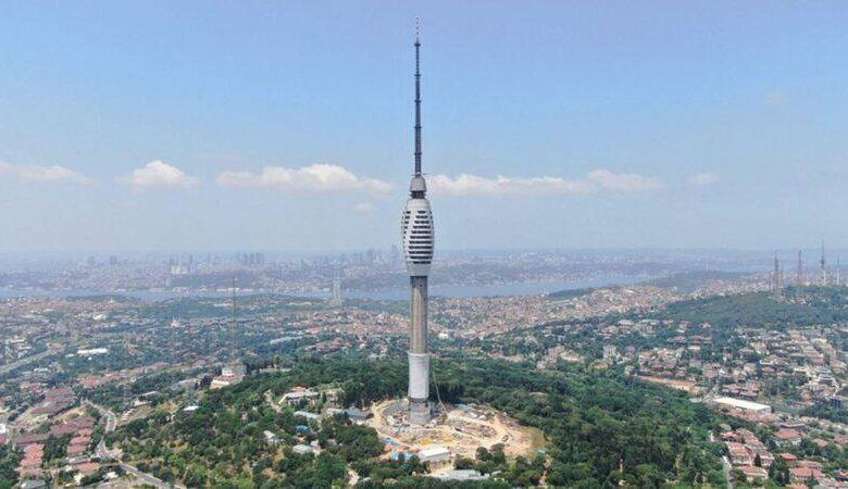 küçük çamlıca tv kulesi resim